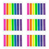 etichette adesive colorate per bambini in 8/colori assortiti confezione da 640 etichette di forma rettangolare Royal Green dimensioni 4 x 1,9/cm