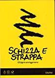 Blocco Schizza e Strappa A3 Favini Cm. 29,7 x 42 fogli bianchi 55 gr.