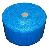 Realpackâ ® 1x rotolo–blu Strong pluriball Dimensioni: larghezza 30,5cm 300mm x 100m free Fast Shipping Next Day UK Delivery