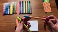 Video recensione pennarelli Stabilo...anche penne e indelebili!